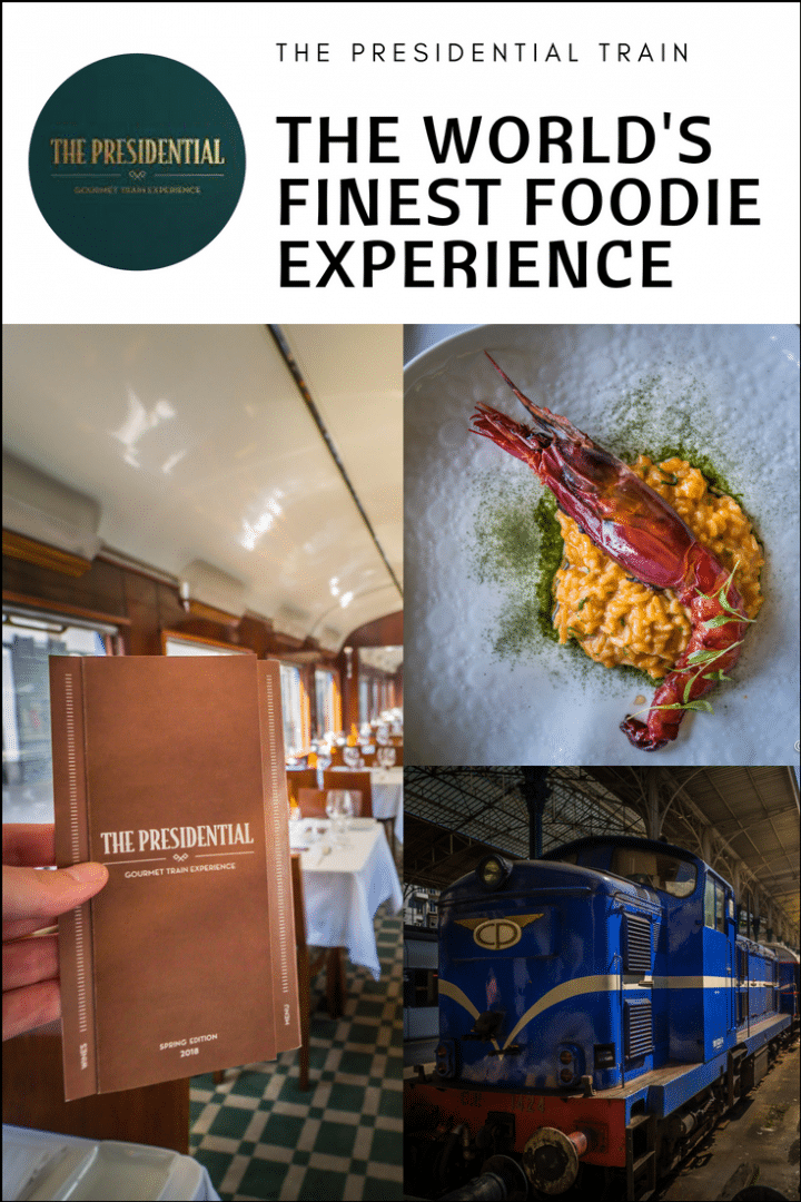 The Presidential Train Review – The World's Finest Foodie Train