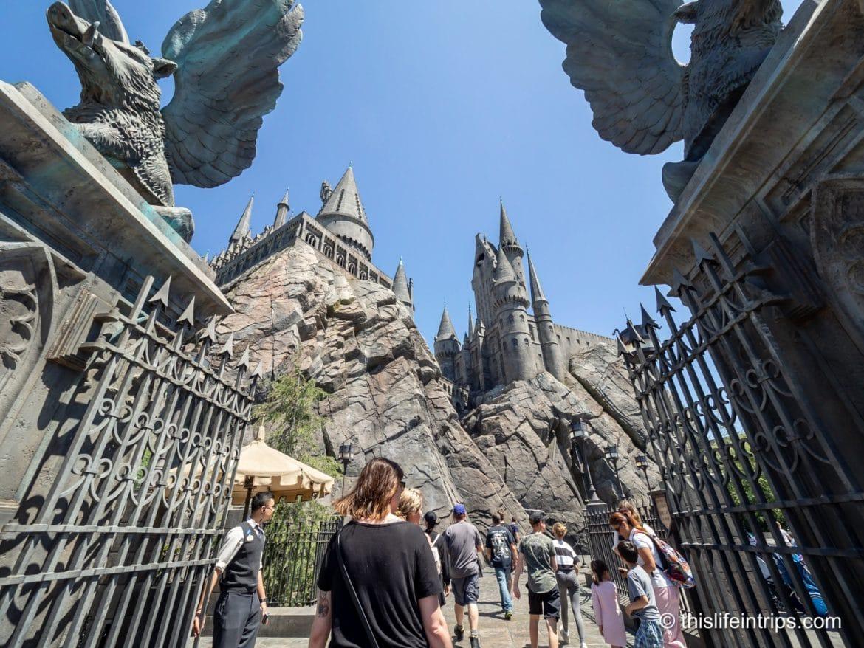 Visiting Universal Studios Hollywood