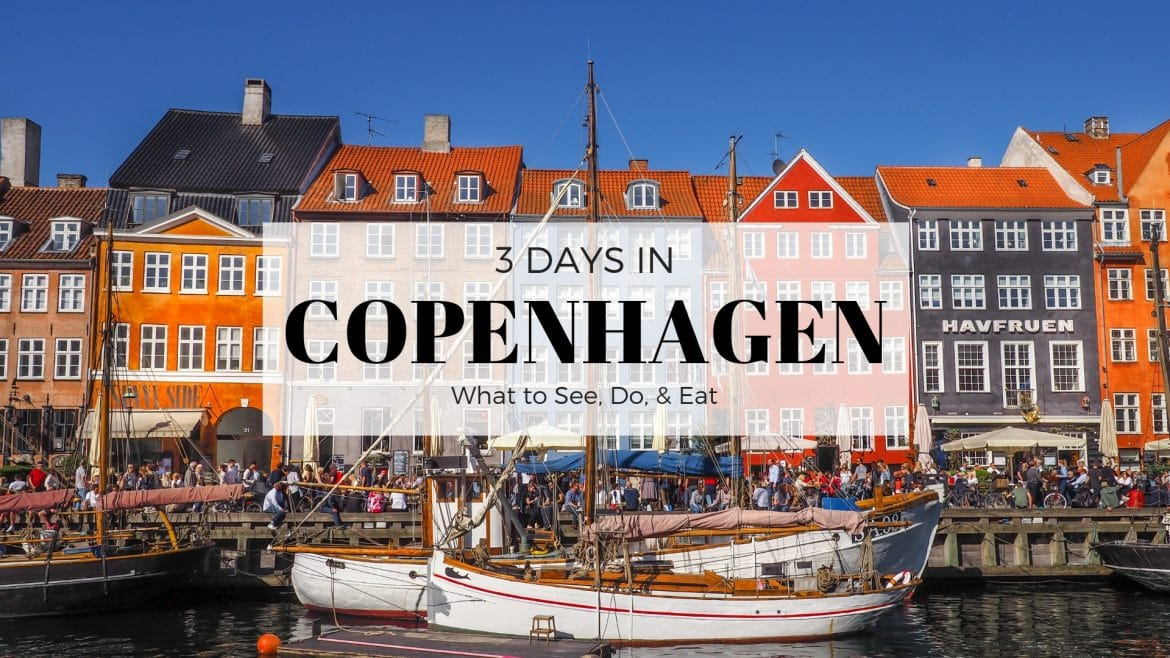 What must you visit in Copenhagen if you stay one day?