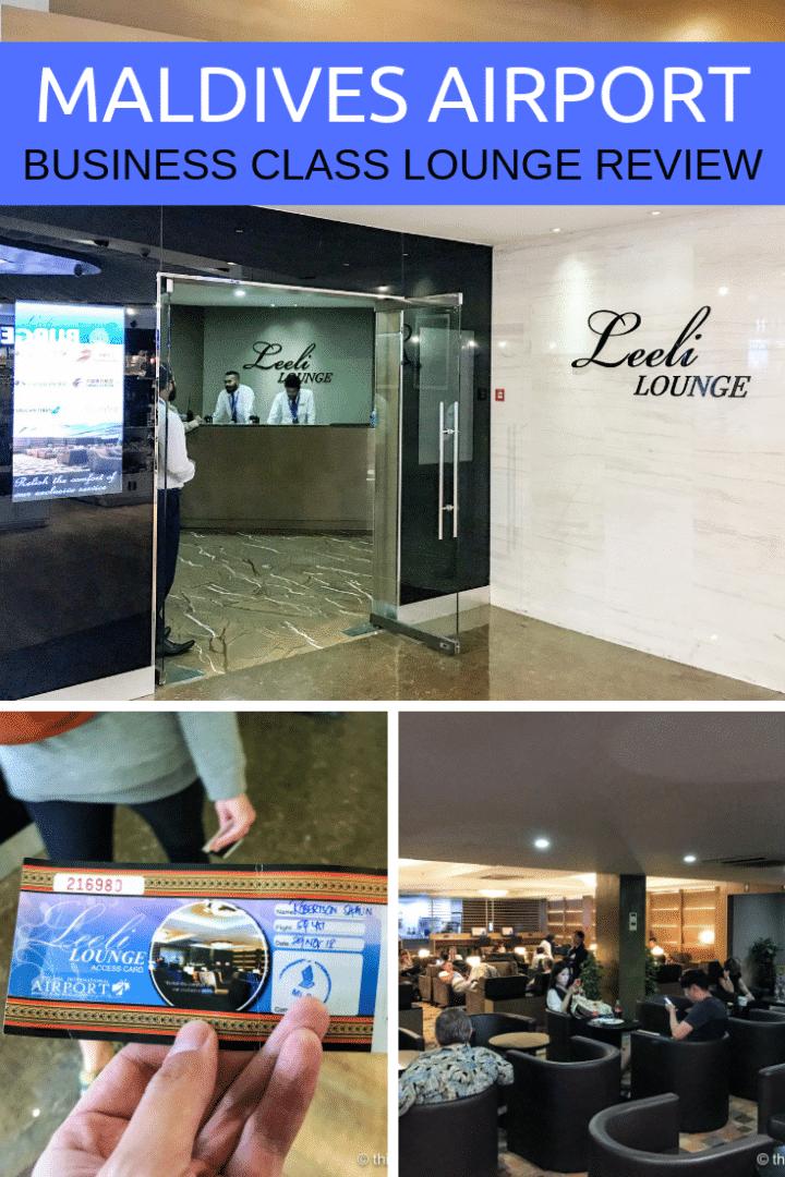 Leeli Lounge Review: Male Airport, Maldives