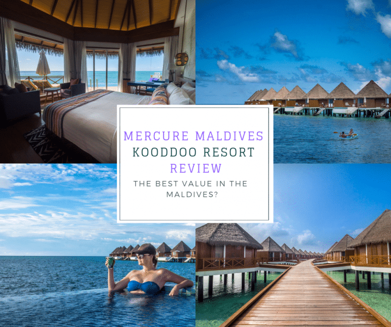 Mercure Maldives Kooddoo Resort Review Best Value In The Maldives