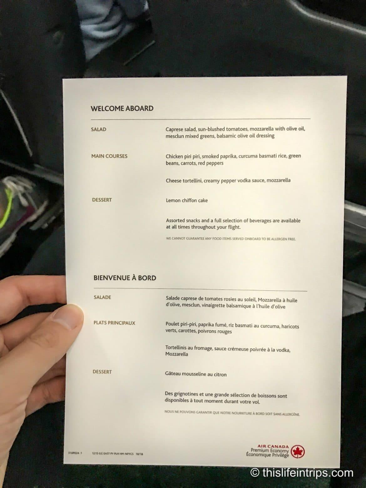 Is Air Canada Premium Economy Worth it?