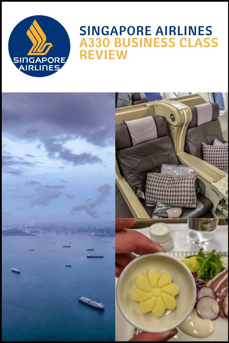 Singapore Airlines A330 business class review