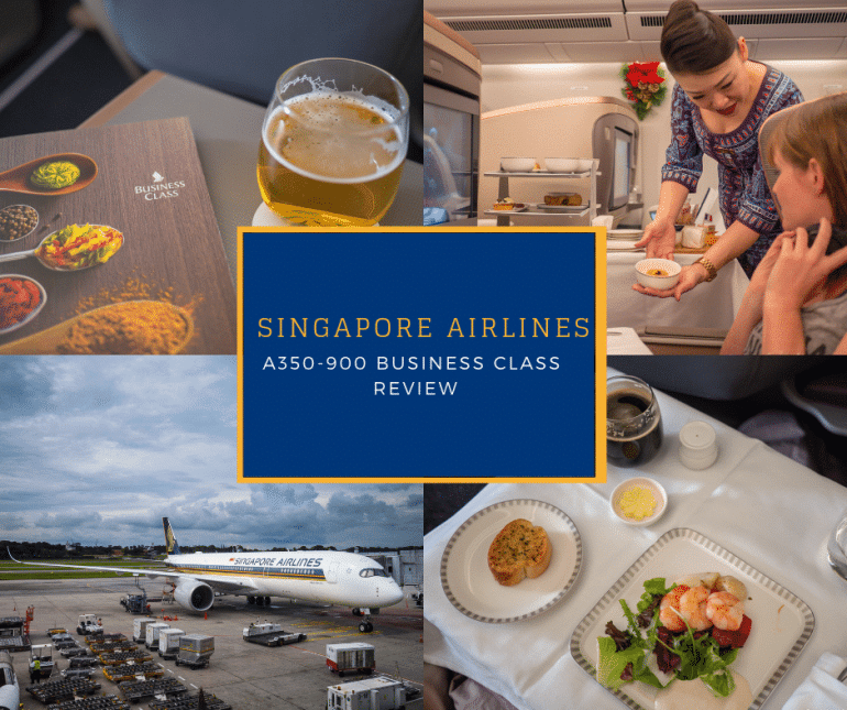 Africa Business Class: Singapore Airlines Business Class Review