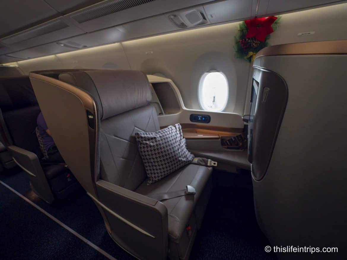 Singapore Airlines Business Class Review | A350-900 SIN to SFO