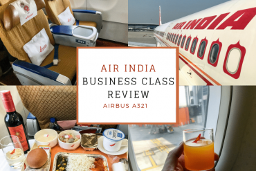 Air India A321 Business Class Review