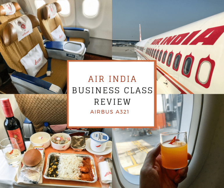 Africa Business Class: Air India Business Class Review