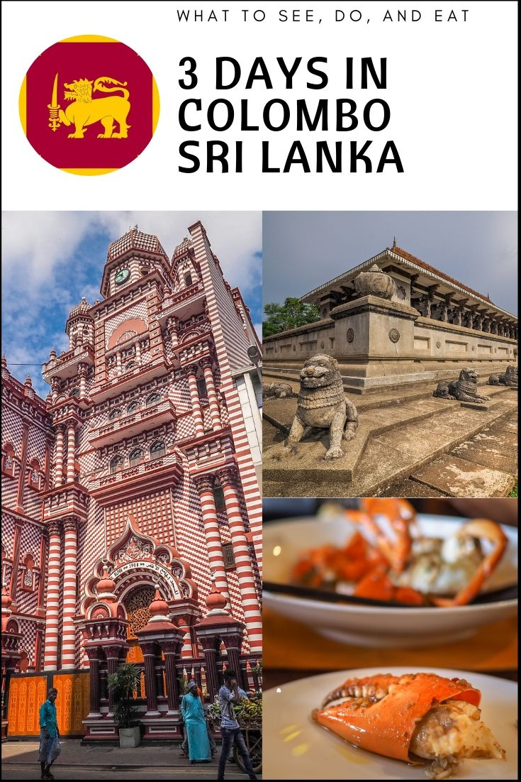 Three days in Colombo – What to See, Do, Eat and Drink