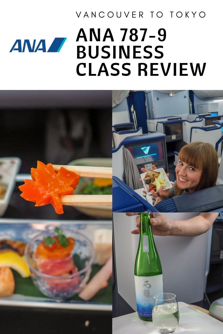 Review: ANA 787-9 Business Class | YVR - NRT