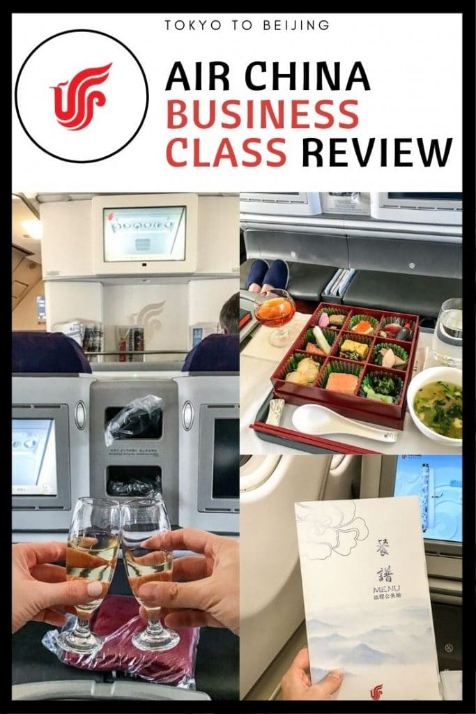 Air China Business Class Review | A330-300 HND-PEK
