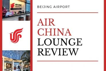 Air China Business Class Lounge Review – Beijing (PEK)