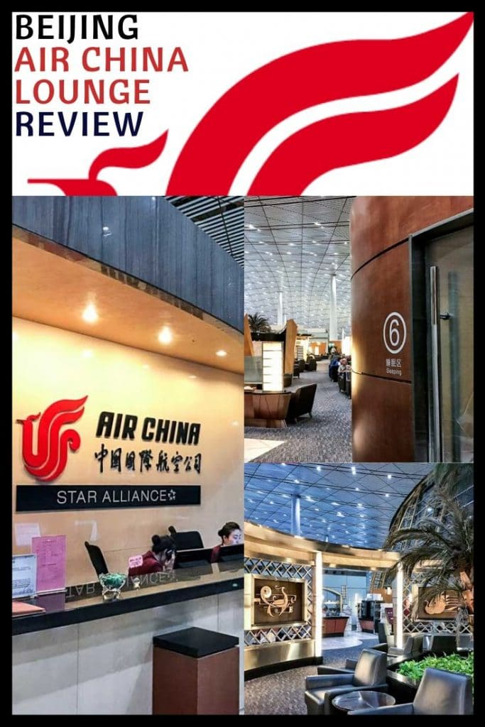 Air China Business Class Lounge Review - Beijing (PEK)