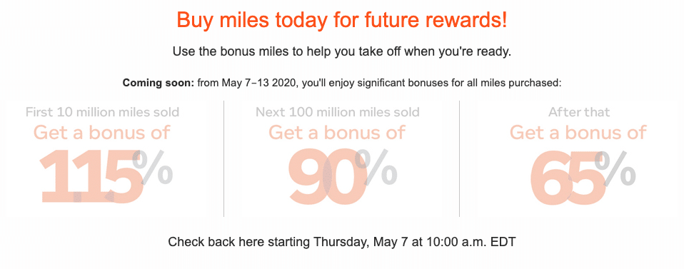 YOU CAN NOW BUY AEROPLAN POINTS & THERE'S BONUS OFFERS!