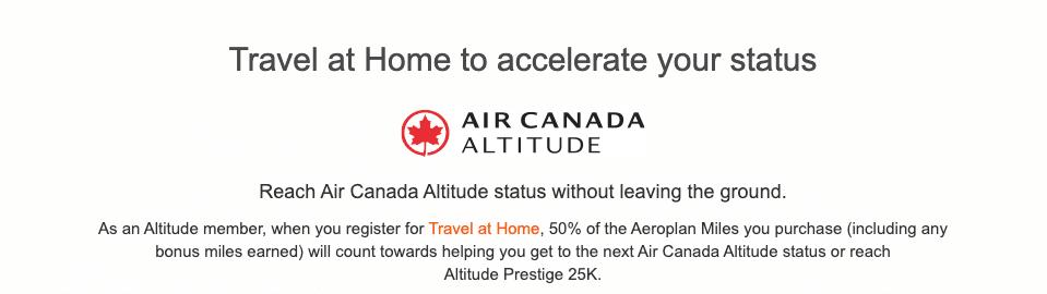 buy aeroplan points