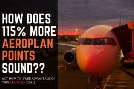 Buying Aeroplan points