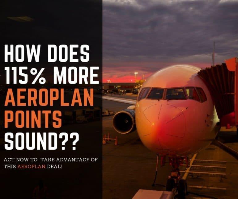 Buying Aeroplan points