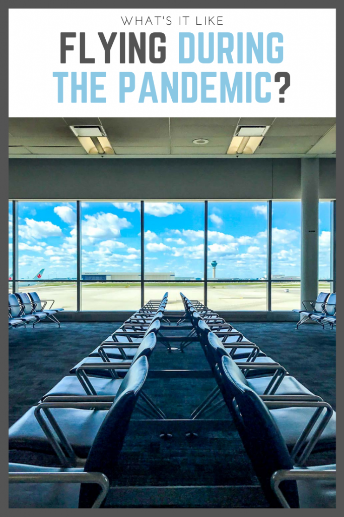 What It's Like to Fly Across Canada During the Pandemic?
