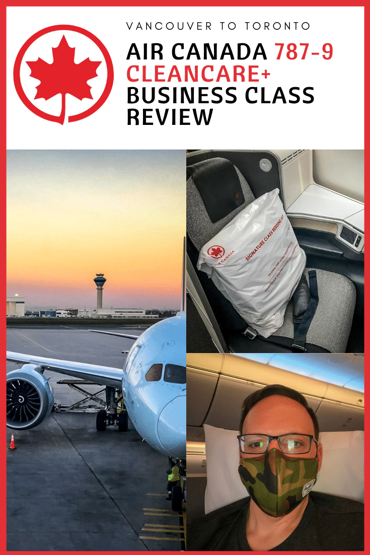 Review: Air Canada 787-9 Business Class | YVR - YYZ