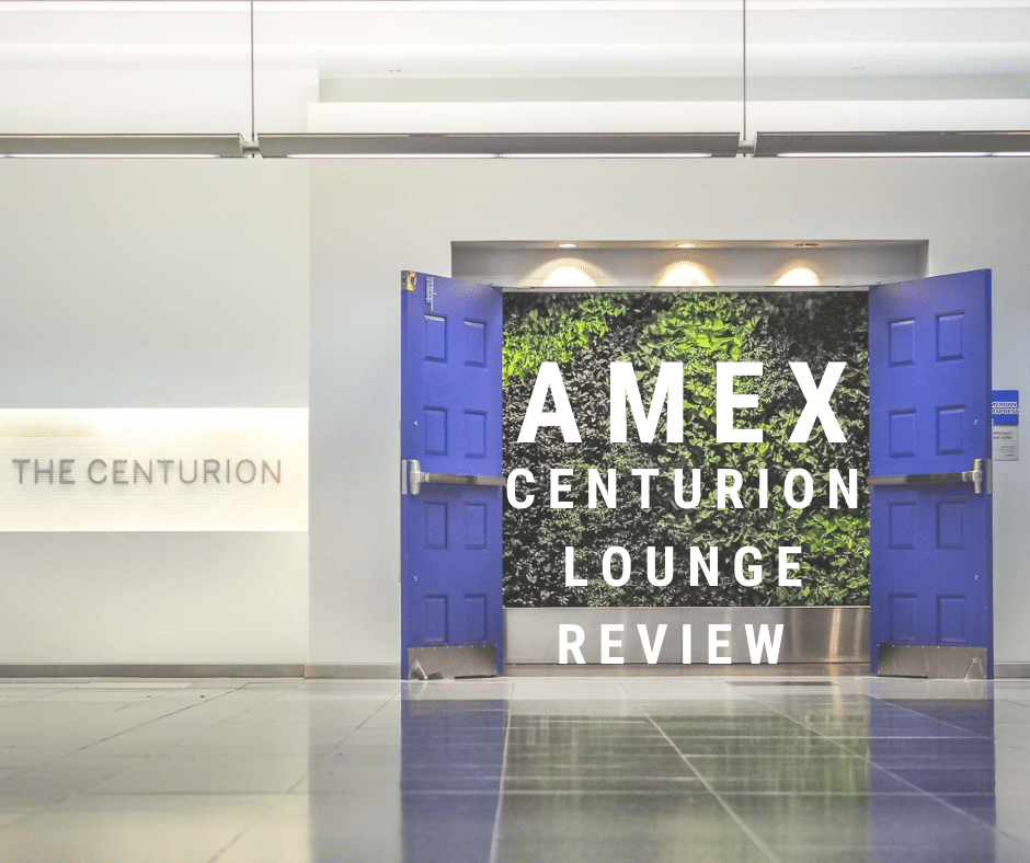 AMEX Centurion Lounge Las Vegas Review