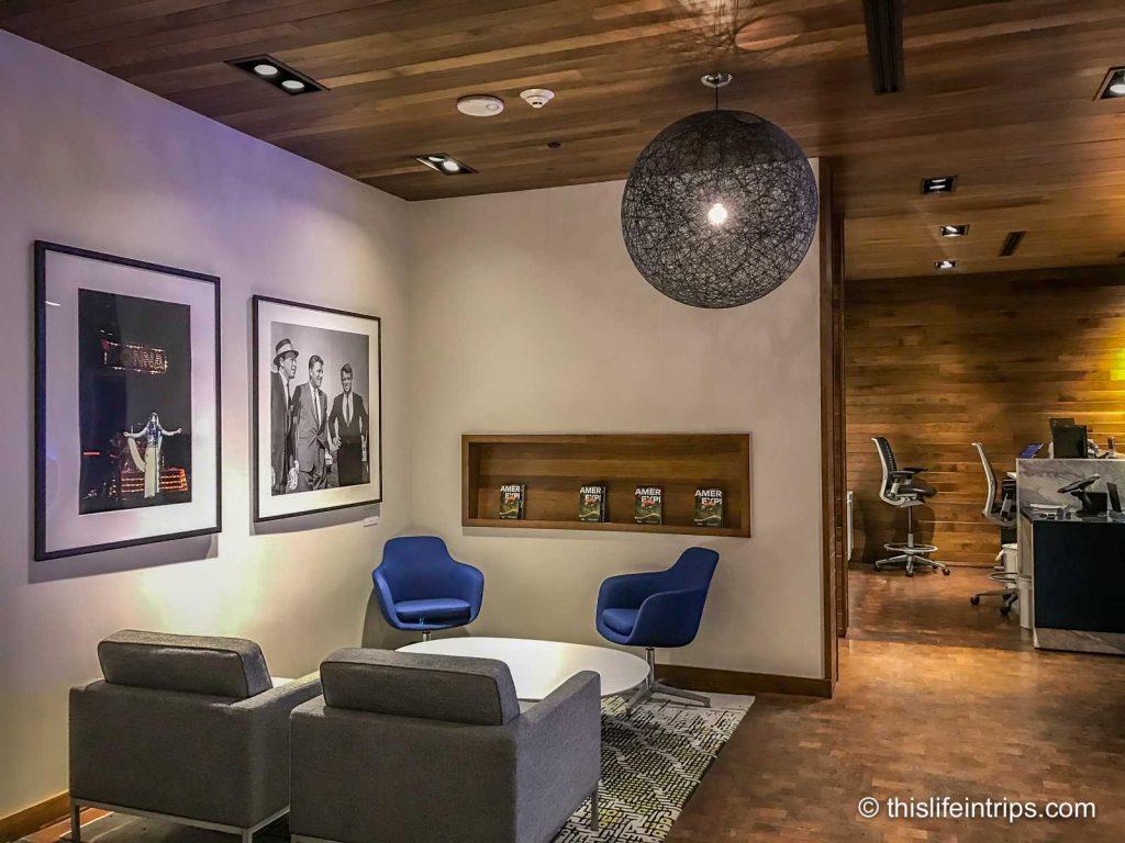 AMEX Centurion Lounge Las Vegas Review