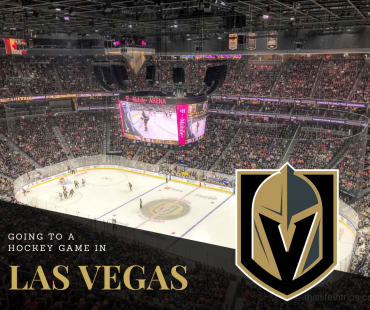 Going to a Hockey Game in Las Vegas