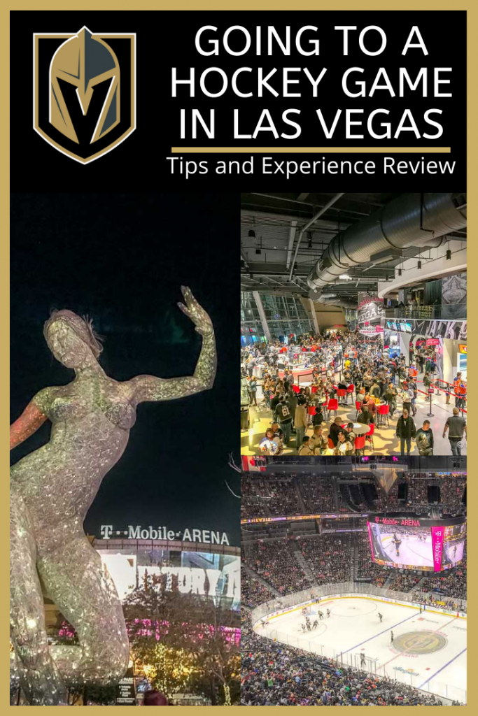 Going to a Hockey Game in Las Vegas Golden Knights