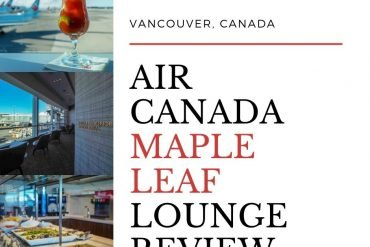 Vancouver Maple Leaf Lounge Review – YVR International Departures