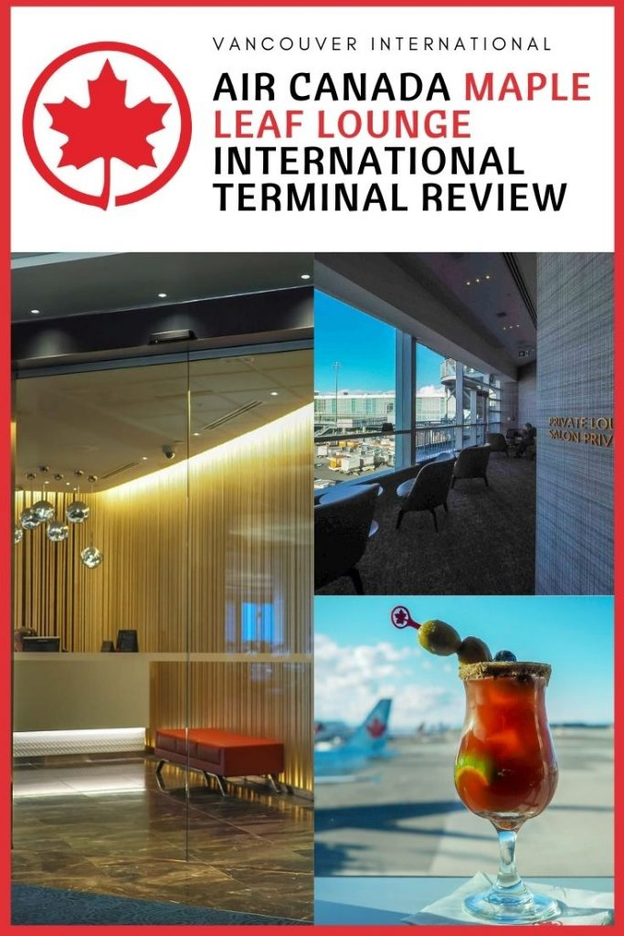 Vancouver Maple Leaf Lounge Review - YVR International Departures
