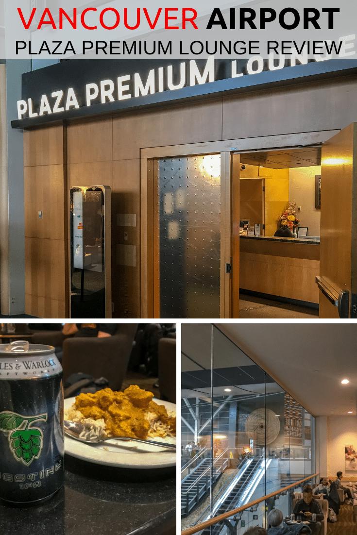 YVR Plaza Premium Lounge Review