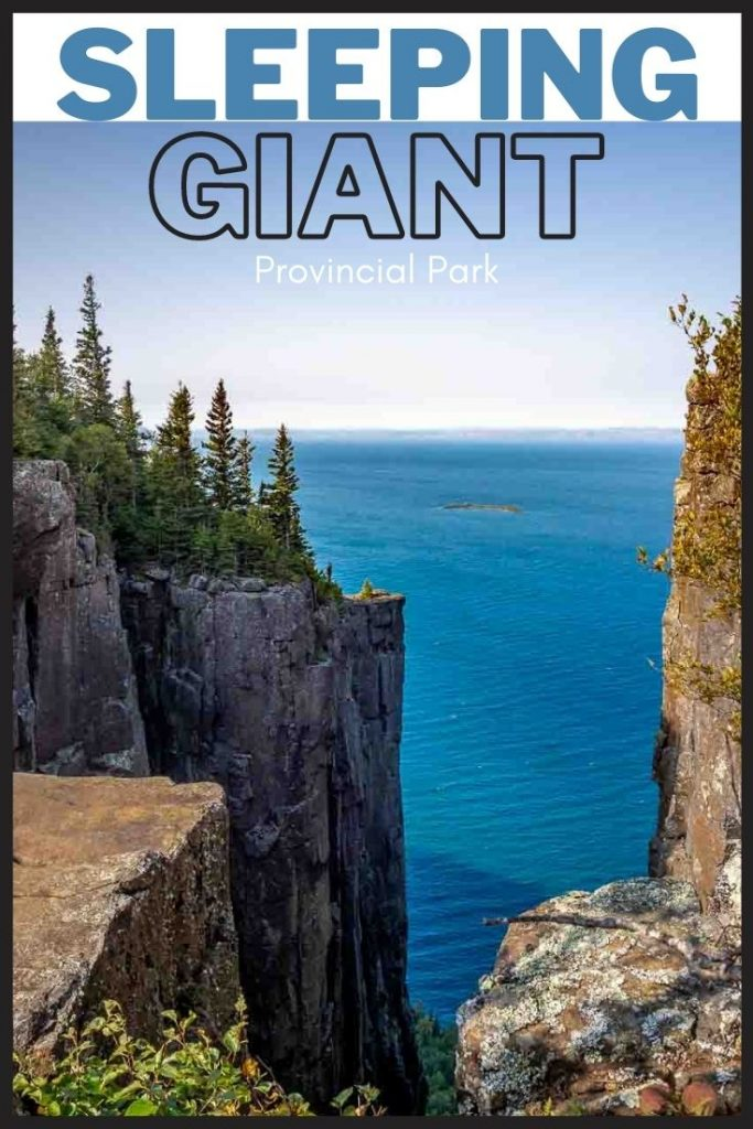 Visiting Sleeping Giant Provincial Park - What to See and Do