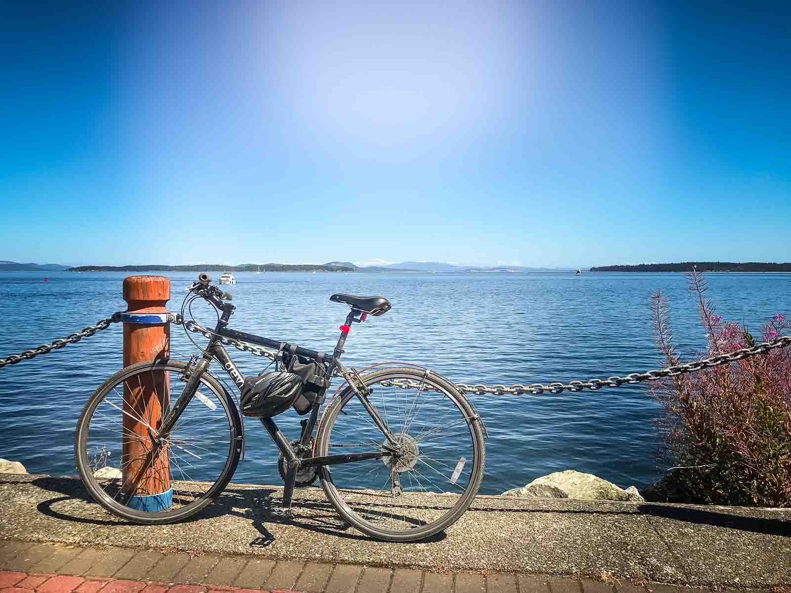 Biking to Victoria From Vancouver - My First Overnight Cycling Trip
