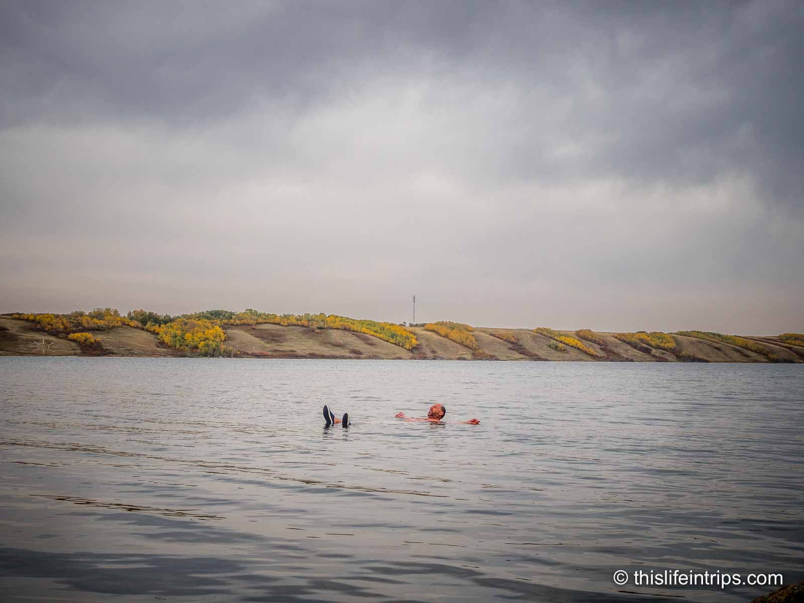 Visiting Little Manitou Lake - The Dead Sea of Canada